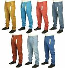 MENS BRAND NEW ETO JEANS IN 7 COLOURS CUFFED TWISTED LEG RRP £44.99 NOW £16.99