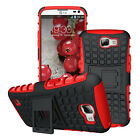 Dual Layer Shockproof Cover Hybrid Rugged Case for LG K4/Spree/Optimus Zone 3