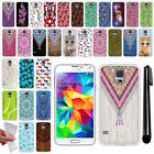 For Samsung Galaxy S5 G900 i9600 TPU SILICONE Soft Protective Case Cover + Pen