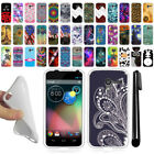 For Motorola Moto X Phone XT1058 TPU SILICONE Soft Protective Case Cover + Pen