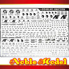 Detail Up Silver Metal Decal For 1/144 HG UNICORN GUNDAM MODEL KIT 2248
