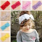 Baby Girl Headband Toddler Lace Bow Flower Hair Band Accessories 19-20cm Lots