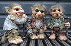 Novelty Viking Dam Ugly Troll Tri Gnome Gift Ornament Statue Garden Outdoor Home