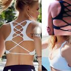 Workout Bra Women Seamless Yoga Sports Crop Top Racerback Racerback Fashion TXSU