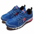 Fila J930P Blue Pink Grey Womens Running Trainers Sneakers Shoes 5-J930P-322