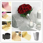 DIAMOND MESH WRAP TWINKLE RHINESTONE Crystal Ribbon Wedding Favor