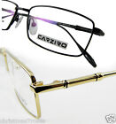 MEN pure titanium Eyeglass frames optical Fashion rectangle Design black/gold