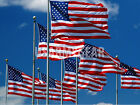 NEW Embroidered Star American US USA United States Nylon Flag Flags 5x8 3x5