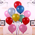 100x 10'' Colorful Pearl Latex Balloon Celebration Party Wedding Birthday Decor
