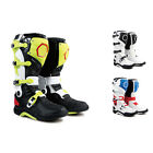 SHO New Fashion Men Leather Waterproof Colorful Motorcycle Racing Boots All Size