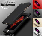 360° Full Hybrid Tempered Glass + Acrylic Hard Case Cover For iPhone 6 & 6s Plus