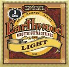 TRIPLE PACK - 3 Packs Ernie Ball Earthwood 80/20 Bronze Acoustic Guitar Strings  for sale