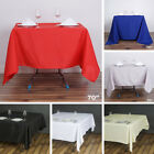 """6 pcs 70"""" SQUARE POLYESTER TABLECLOTH Wedding Party Catering Dinner Linens SALE"""