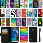 For Samsung Galaxy S5 Active G870A Flip Wallet Leather POUCH Case Cover + Pen