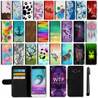 For Samsung Galaxy J3 J310 J320 Amp Prime Wallet Leather POUCH Case Cover + Pen