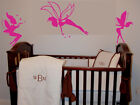 3 Fairies Kid Girl Room Wall Art Vinyl Decal Sticker