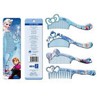 Princess Elsa Wide Tooth Antistatic Thickening Plastic Comb Hair Styling Combs