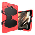 Heavy Duty Hybrid Hard Rugged Armor Shockproof Safe Case For Samsung Tab A E 3 4