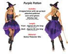 New Vampiress Witch Fancy Dress Outfit Halloween Womens Ladies Sexy Wicked Adult