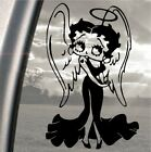 Betty Boop Angel, Car, Van, Laptop, iPad, Wall, Glass, vinyl sticker decal £2.49 GBP on eBay