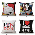 "Picasso Artistic Painting 18""x45cm Decor Cotton Linen Cushion cover Pillowcase"