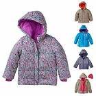 NWT Toddler Girl Puffer Coat Jacket Oshkosh Carter's Frozen Pink Platinum 2T 3T