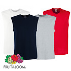 Fruit Of The Loom MEN'S TANK TOP SMART FIT COTTON SPORTS GYM VEST SUMMER T-SHIRT