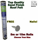 Roof Felt - Sand Finish - FREE NAILS - Free Delivery!