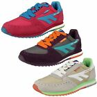 Ladies Hi-Tec Lace Up Casual Trainers Shadow Original