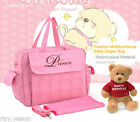 Antimicrobial Baby Nappy Bag Large Capacity Baby Diaper Bag Mommy Changing Bag