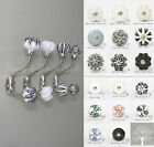 Vintage Style Shabby Chic coat hook bed bathroom -with choice of ceramic knobs