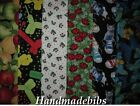 CHILD XL TODDLER BIB HANDMADE BUTTERFLIES CATS LADYBUGS BALLOONS APPLES
