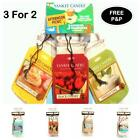 Yankee Candle 3 for 2 Bonus Pack Car Jar Air Freshener VARIETY