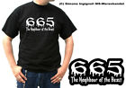 A95L TShirt Gothic 665 Neighbour of the Beast bis 5XL