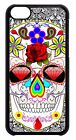 Sugar Skull Art Day Dead Mexican Scary Pattern Back Case Cover Apple iPod 4 5 6