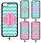 Custom PERSONALIZED Chevron MONOGRAM Cute Back Case Cover For Apple iPod 6 5 4