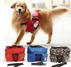 Deluxe Outward Hound Saddle Bags Pet Dog Backpacks for Hiking or Camping