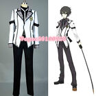 Chivalry of a Failed Knight Ikki Kurogane Halloween Cosplay Costume Outfit Suit