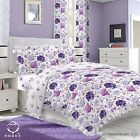 Duvet Cover with Pillow Case Quilt Cover Bedding Set with FRILLED EDGE ADRIANA