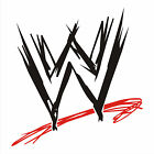 American Wrestling WWE sign wall art sticker decal Choose your own colours #1
