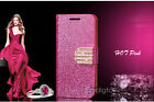 Bling-Bling Glossy Gilter Wallet Flip Case Cover For Samsung Galaxy S6 & S6 Edge