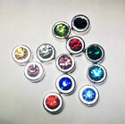 Alloy Birthstone floating charms for Memory Locket