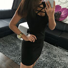 Sleeveless Women Lady charming Cocktail Bodycon Party Bandage Sexy Dress SBTS