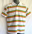 Polo Shirt_Rasta_ White_Reggae