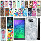 For Samsung Galaxy Alpha G850 PATTERN HARD Back Case Phone Cover + Pen