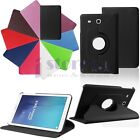 """New 360° Rotating Stand PU Leather Case for 9.6"""" Samsung Galaxy Tab E T560 T561"""