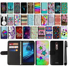 For Motorola Droid Turbo 2 Kinzie XT1585 Design Flip Wallet Case Cover + Pen