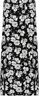 Womens Plus Floral Maxi Skirt Ladies Print Elasticated Waist Full Length 16-28