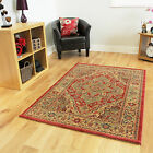 New Modern Red Traditional Rugs Small Extra Large Long Big Huge Size Soft Mats