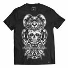Cerbervs Clothing T-Shirt Unholy Grail-Gothic-Metal-Occultwear-NEU!!Skull